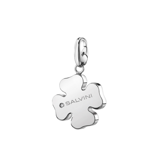 CIONDOLO QUADRIFOGLIO  CHARMS OF LOVE SALVINI  REF 20073416
