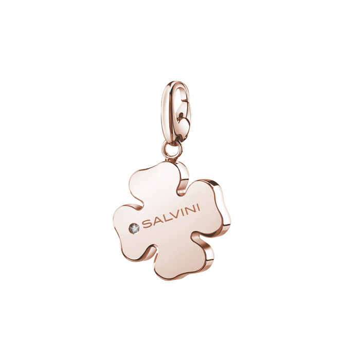 CIONDOLO QUADRIFOGLIO  CHARMS OF LOVE SALVINI  REF 20073420