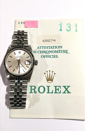 ROLEX Datejust 31 mm  68274  FULL SET