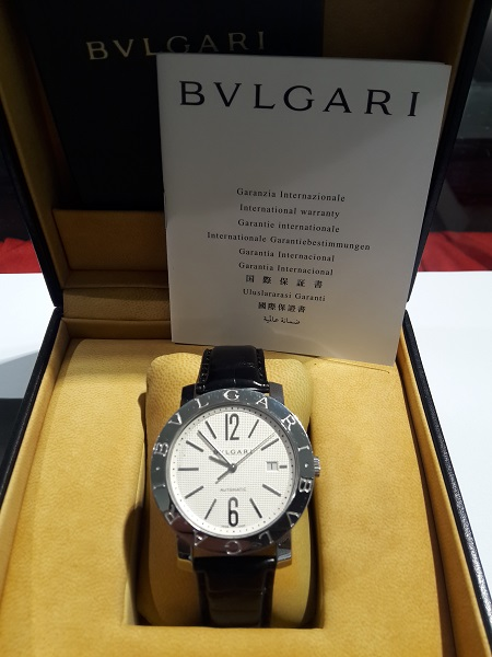 BULGARI BULGARI  BB 42SL AUTOMATICO FULL SET